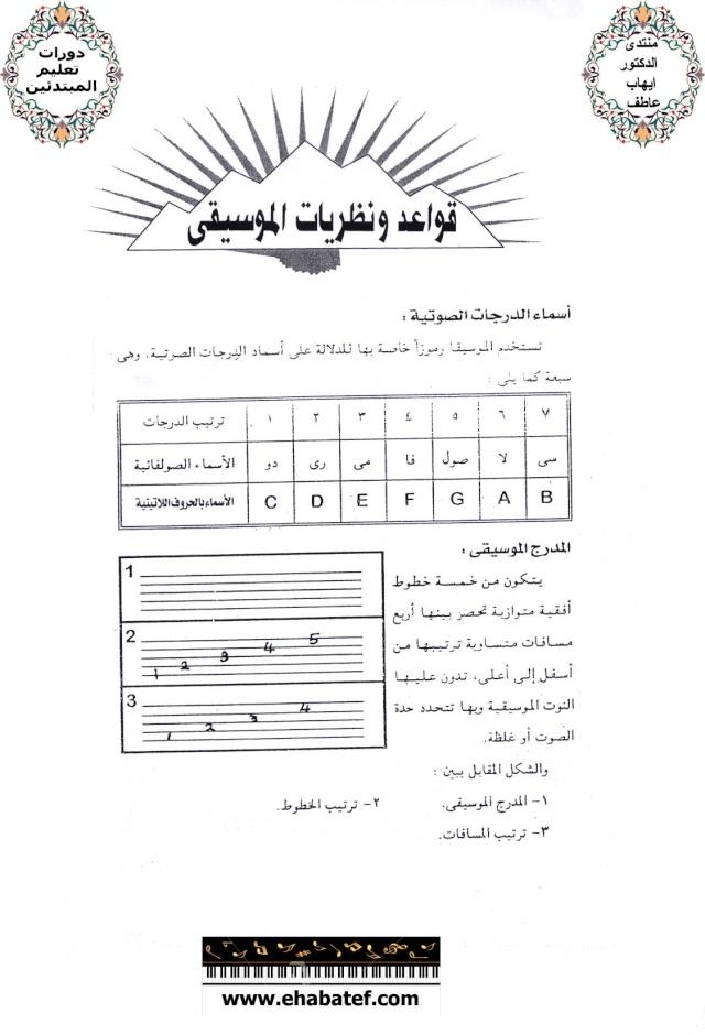 قواعد ونظريات الموسيقى 113