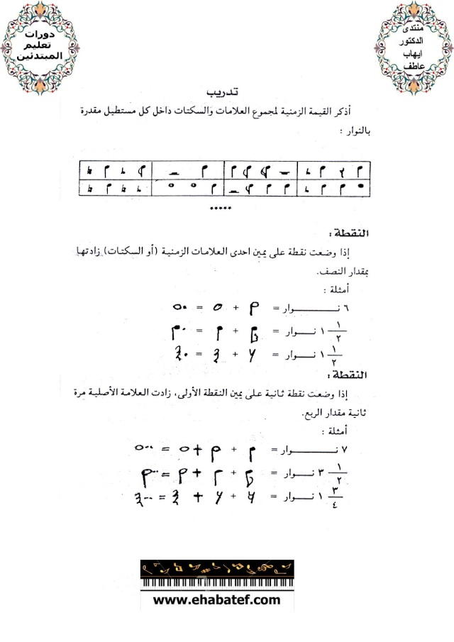 قواعد ونظريات الموسيقى 1510