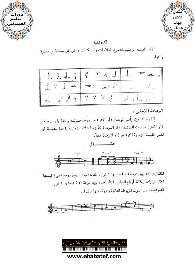 قواعد ونظريات الموسيقى 1610