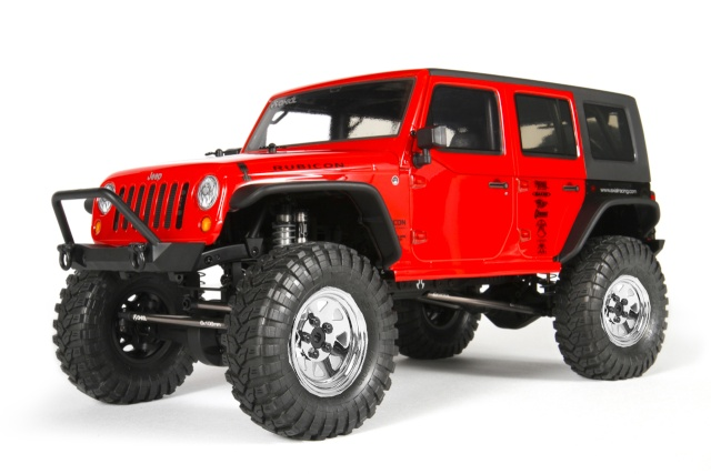 Axial scx10 Jeep Wrangler Unlimited Rubicon KIT Ax900211