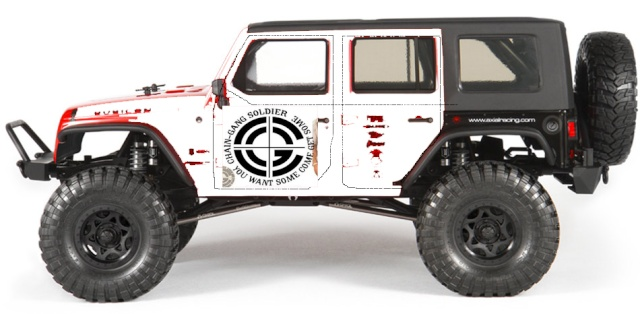 Axial scx10 Jeep Wrangler Unlimited Rubicon KIT Axial_14