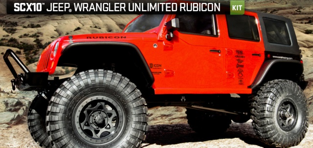 Axial scx10 Jeep Wrangler Unlimited Rubicon KIT Produc10