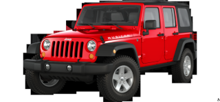 Axial scx10 Jeep Wrangler Unlimited Rubicon KIT Rojo10