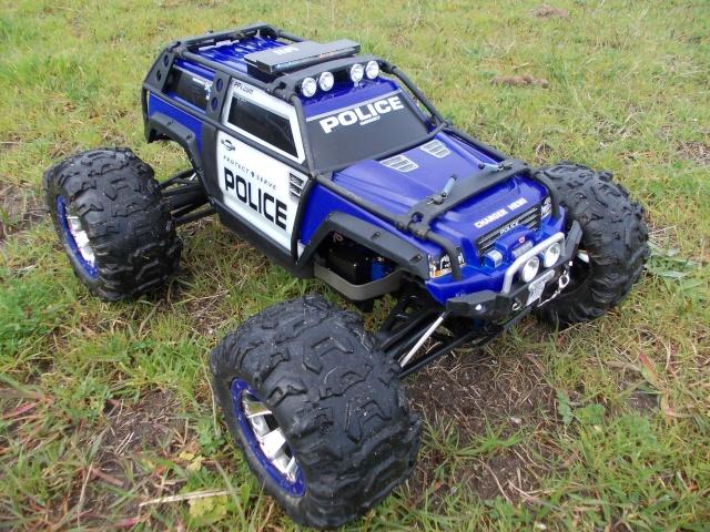 Traxxas Summit 1/10 Police Patrol Summit25