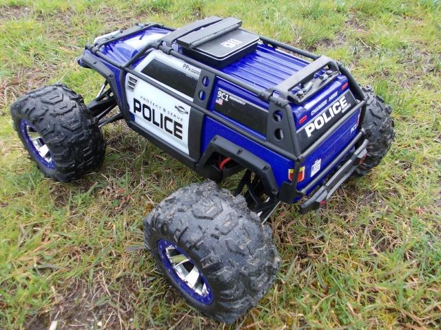 Traxxas Summit 1/10 Police Patrol Summit26