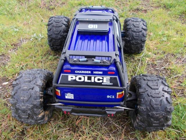 Traxxas Summit 1/10 Police Patrol Summit28
