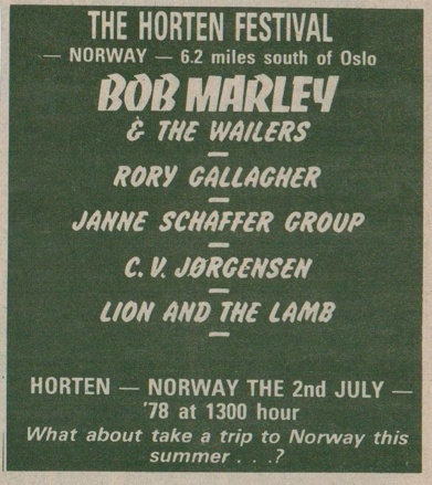 Photos de Sigmund Ruud - Hortensfestival -Horten (Norvège)- 2 juillet 1978 Image_15