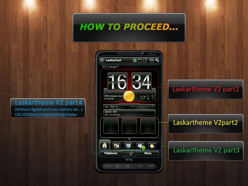[13-01-10]LASKARTHEME V2 Version Black ,Bleu,Verte et Transparente How_to15
