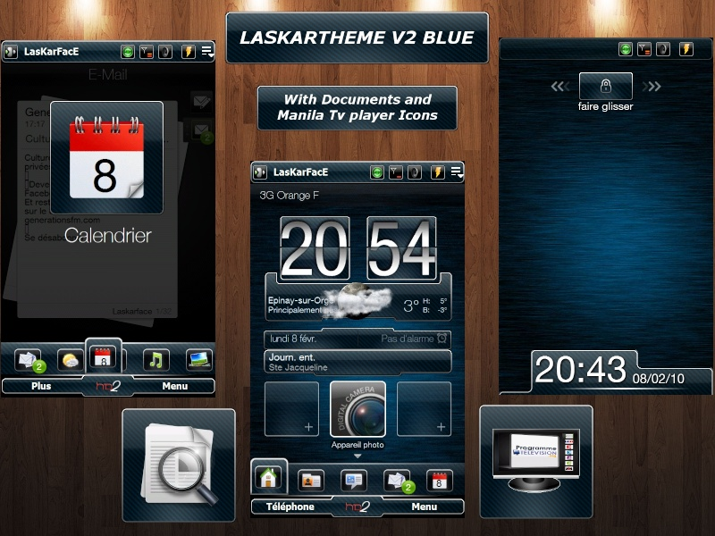 [13-01-10]LASKARTHEME V2 Version Black ,Bleu,Verte et Transparente Laskar18