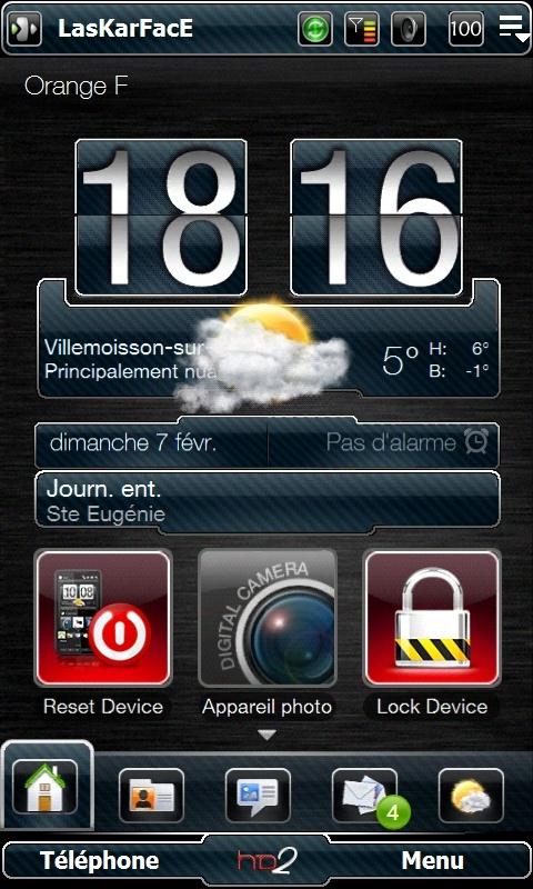 [13-01-10]LASKARTHEME V2 Version Black ,Bleu,Verte et Transparente Screen13