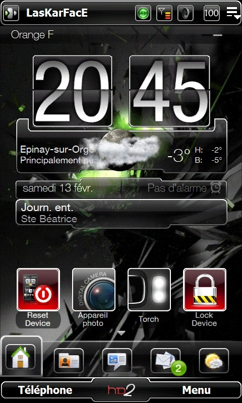 Et si on postait nos Today et nos wallpaper ici .... Screen17