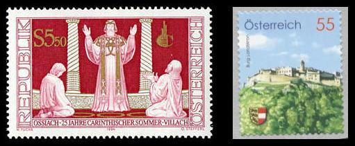 Die Heimat auf Briefmarke Carint10