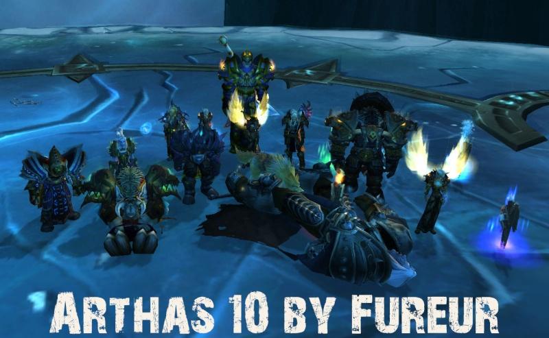 Arthas 10 down ! Arthas10