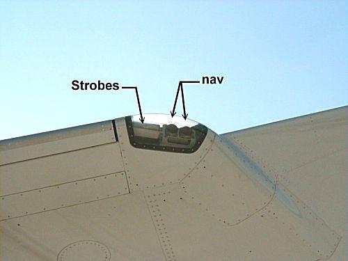 Informations sur le système d'éclairage des Aéronefs 310