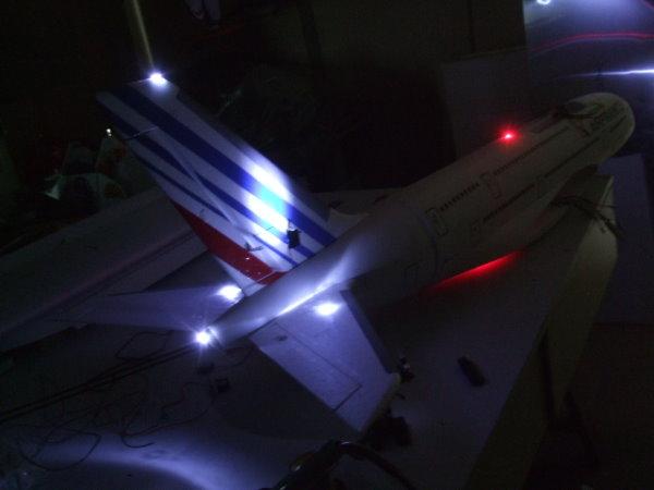 Informations sur le système d'éclairage des Aéronefs E10