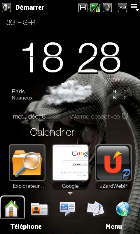 [THEME] Pack pour rendre le Sense 2.5 transparent...+ personnalisation Menu Démarrer - Page 12 Screen10