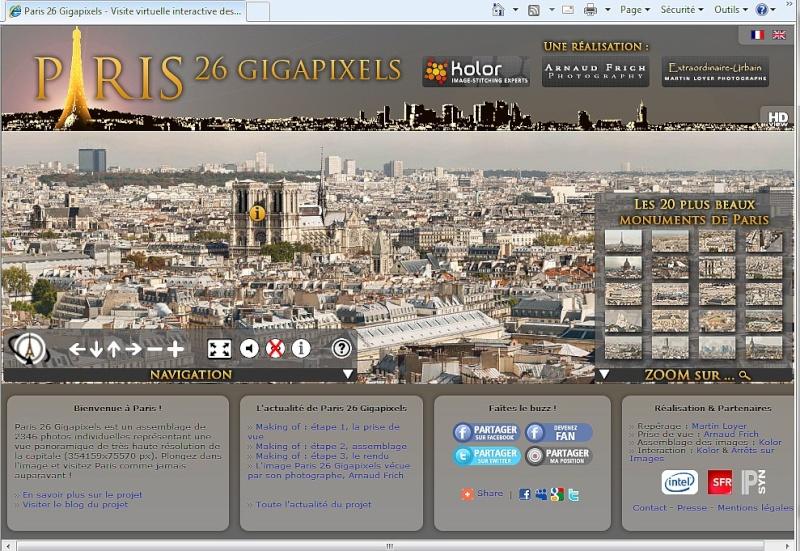 Balade parisienne en 26 Gigapixels Paris210