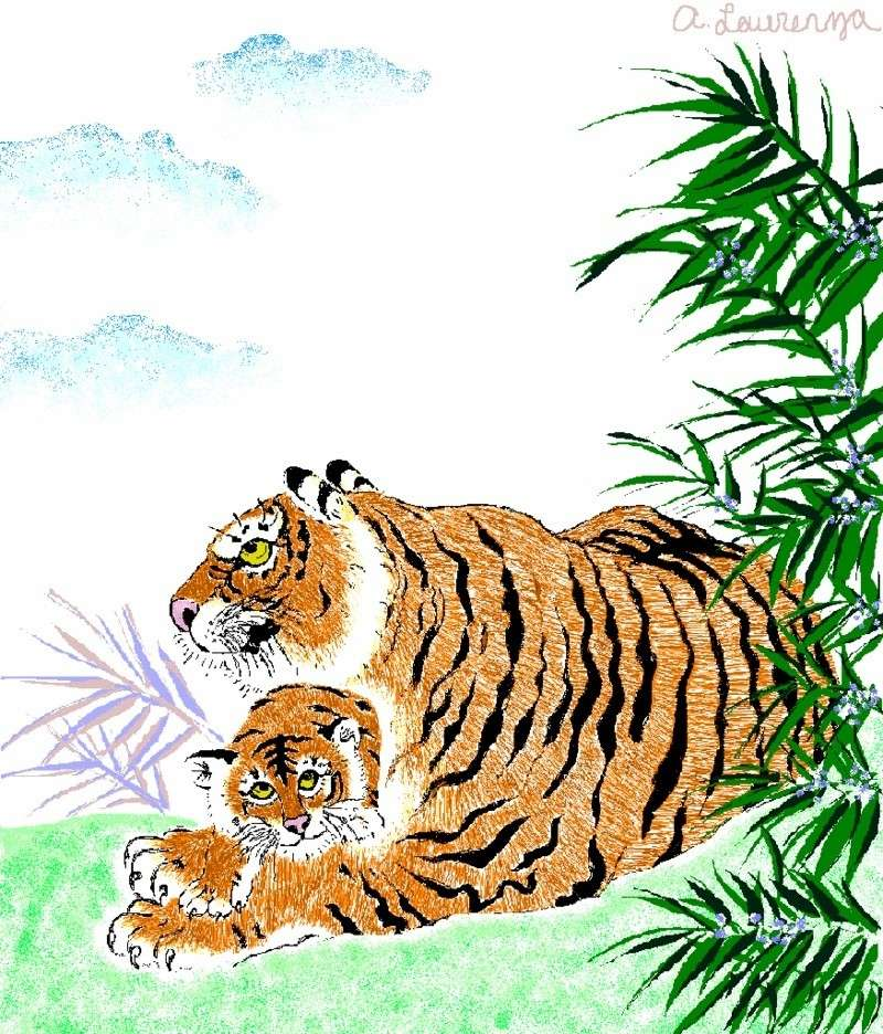 Indidige's Art Thread 4Ever - Page 4 Tiger10