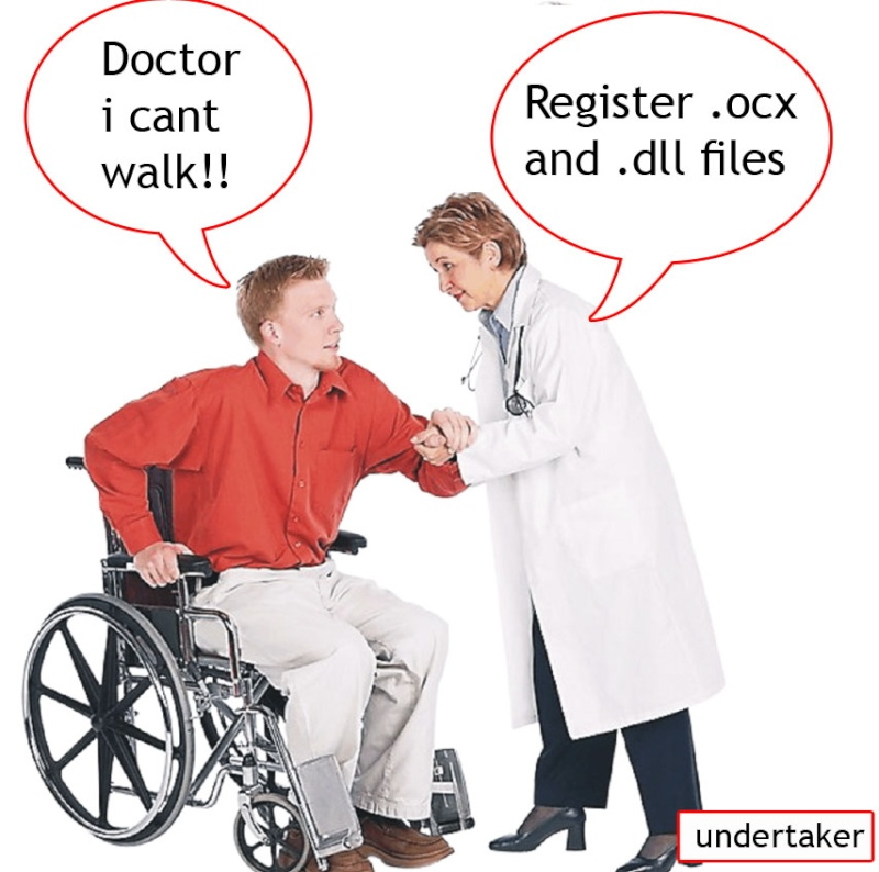 Register ocx and dll Doctor10
