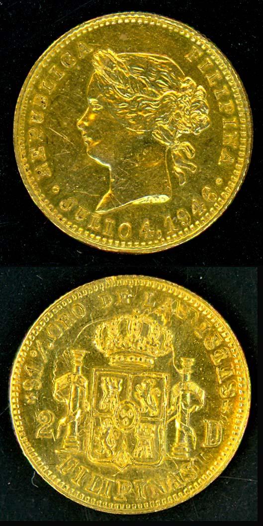Rare 1946 Liberation Gold Medal on EBAY!!! 1946-910