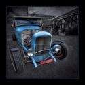 Black & Blue Hotrod11