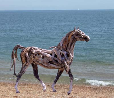 HEATHER JANSCH sculptures-chevaux en bois flotté 20_fev12