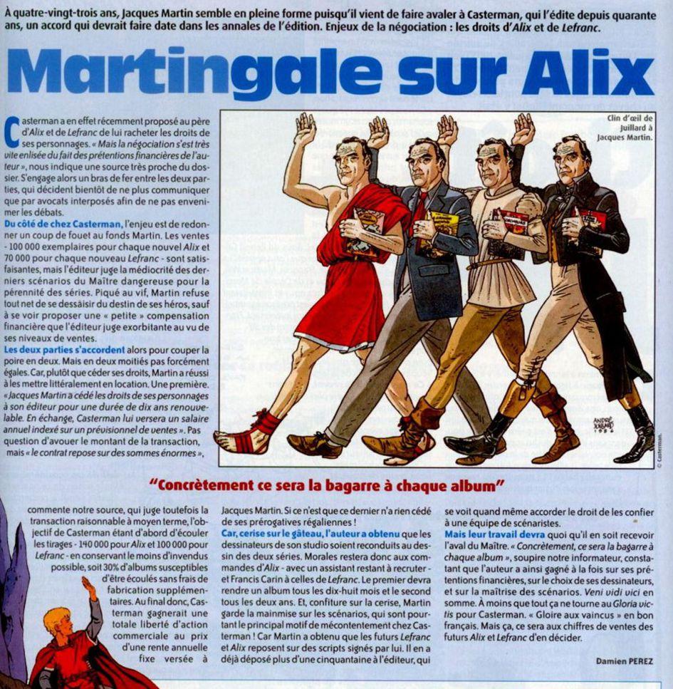 Jacques Martin et Casterman - Page 2 Articl10