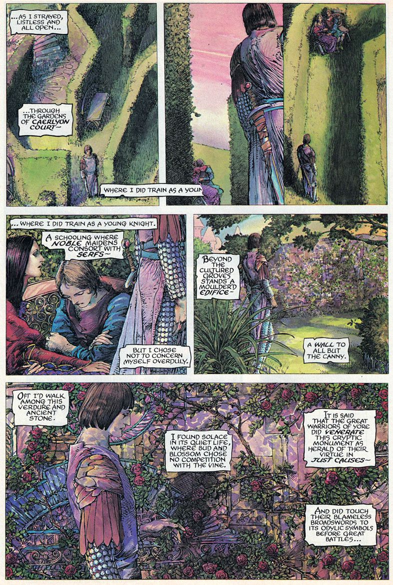 Barry Windsor-Smith entre l'art et les comic-books Beguil12