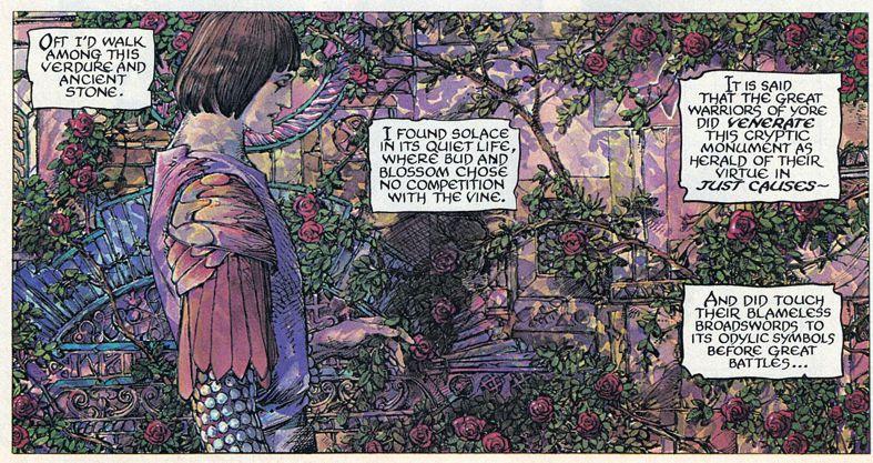 Barry Windsor-Smith entre l'art et les comic-books Beguil13