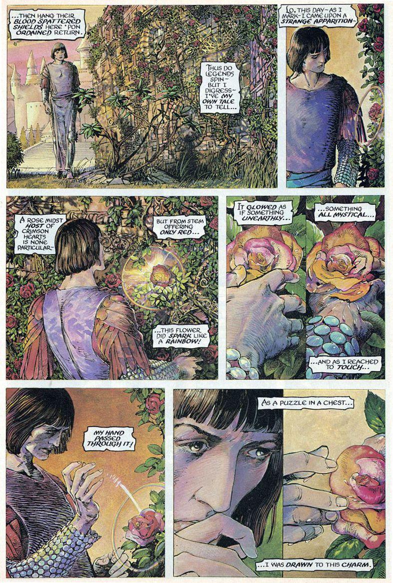 Barry Windsor-Smith entre l'art et les comic-books Beguil14