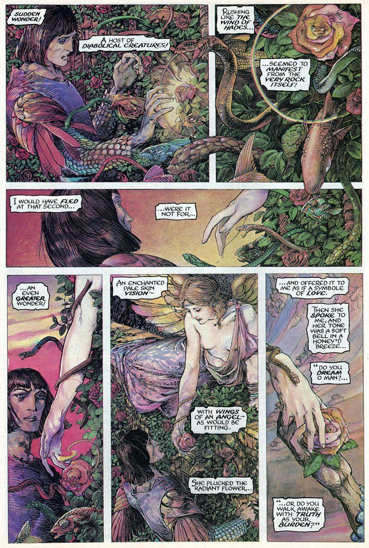 Barry Windsor-Smith entre l'art et les comic-books Beguil16