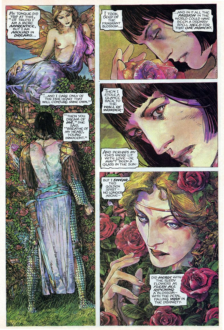 Barry Windsor-Smith entre l'art et les comic-books Beguil18