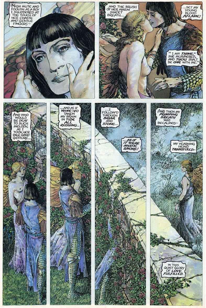 Barry Windsor-Smith entre l'art et les comic-books Beguil20
