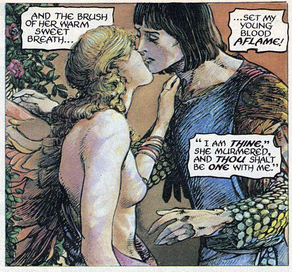 Barry Windsor-Smith entre l'art et les comic-books Beguil21