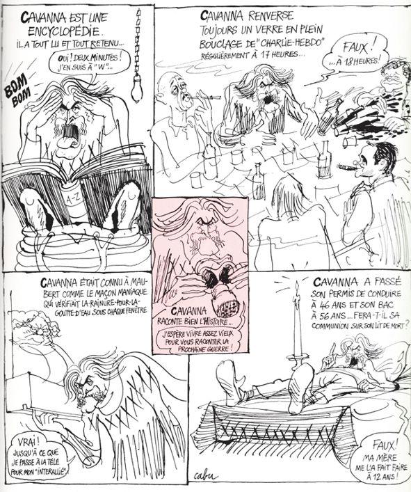 Les BD qui racontent la BD - Page 2 Cabu-c10