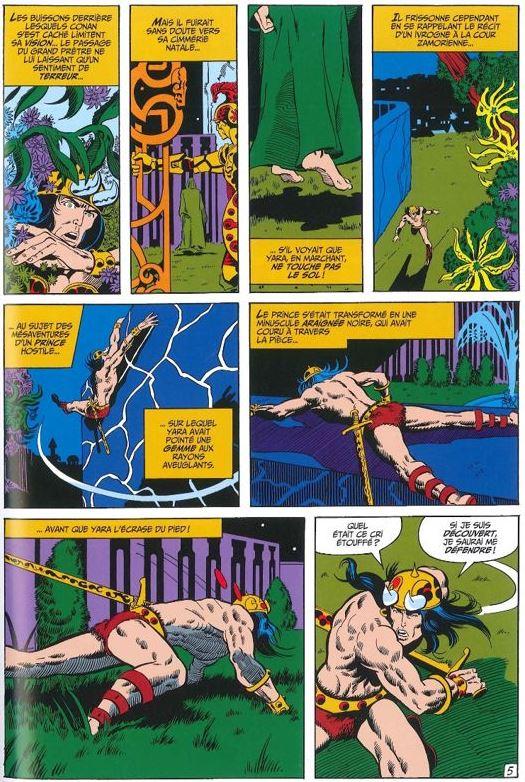Barry Windsor-Smith entre l'art et les comic-books Conan-14