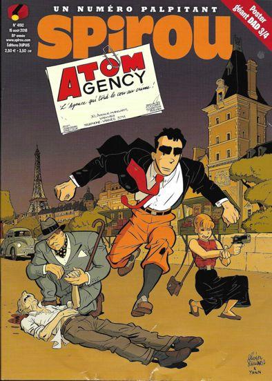 Atom Agency - Atom Agency par Yann et Schwartz Couver10