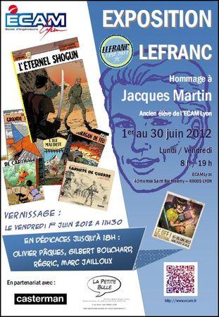 Expositions consacrées à lefranc Expo-211