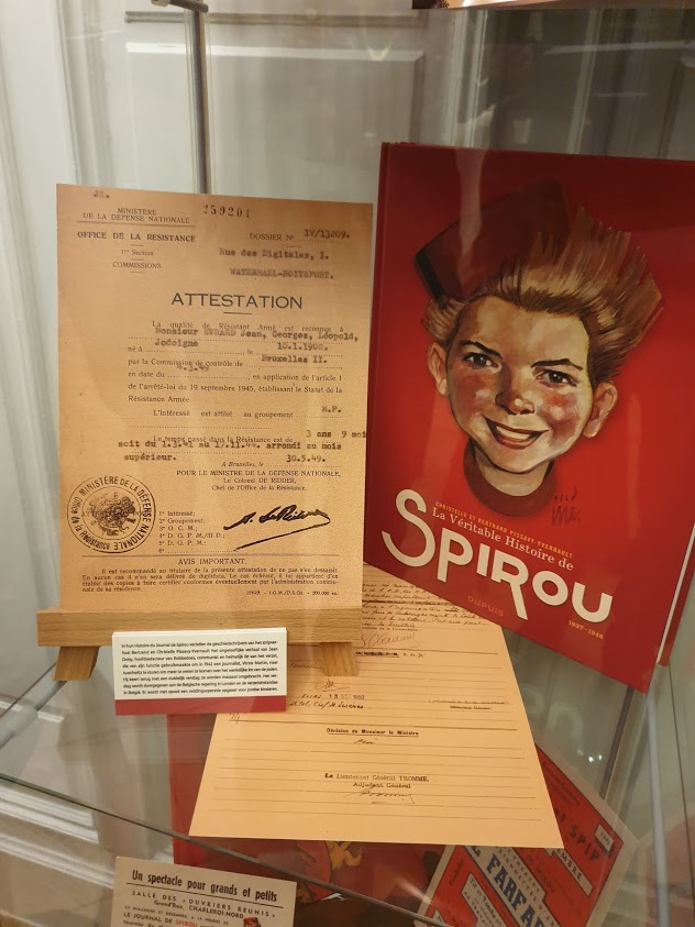 Le journal Spirou en 1942 Expo-s10