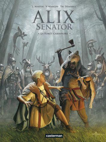 Alix Senator tome 10 : La forêt carnivore Forzot12