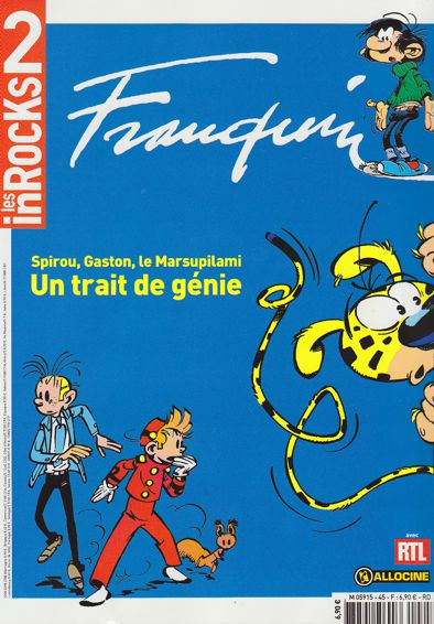 Les Inrocks et la bande dessinée Franqu10