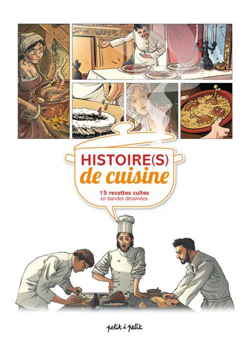 Bandes dessinées et cuisine Histoi21