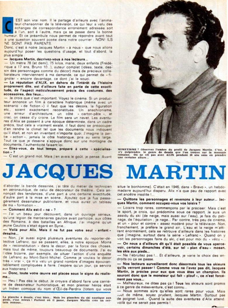 50 ans avec Jacques Martin - Page 3 Interv12