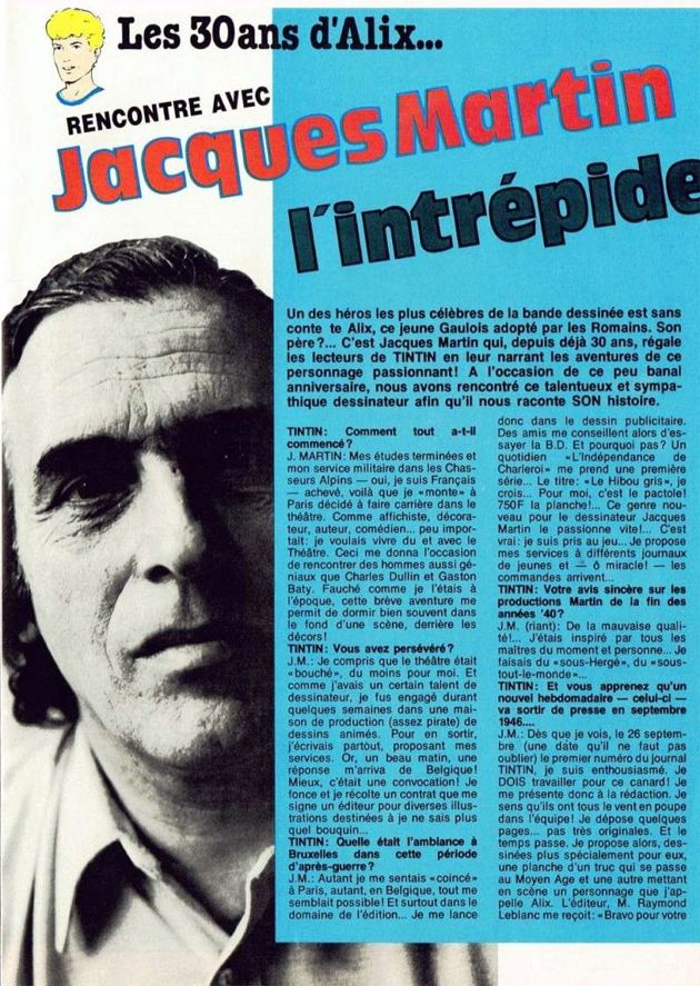 50 ans avec Jacques Martin - Page 5 Interv13