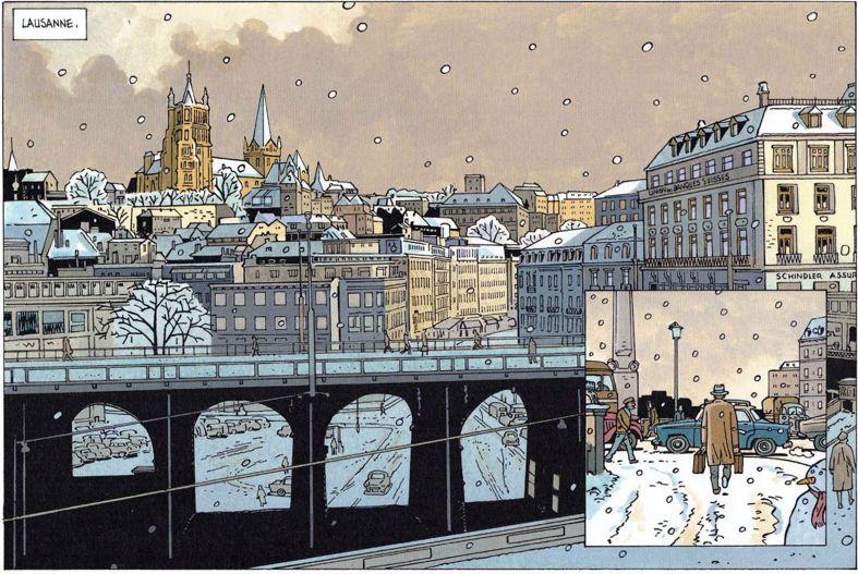 La Suisse dans la BD - Page 2 Lausan12