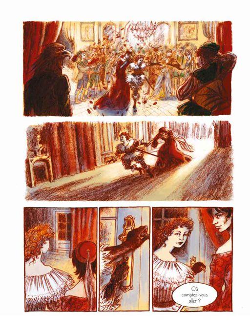 Les romans graphiques Mandra12