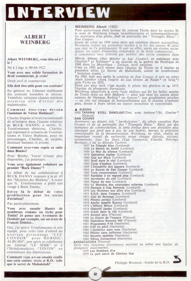 Les dessinateurs méconnus de Tintin, infos et interviews rares - Page 5 P110