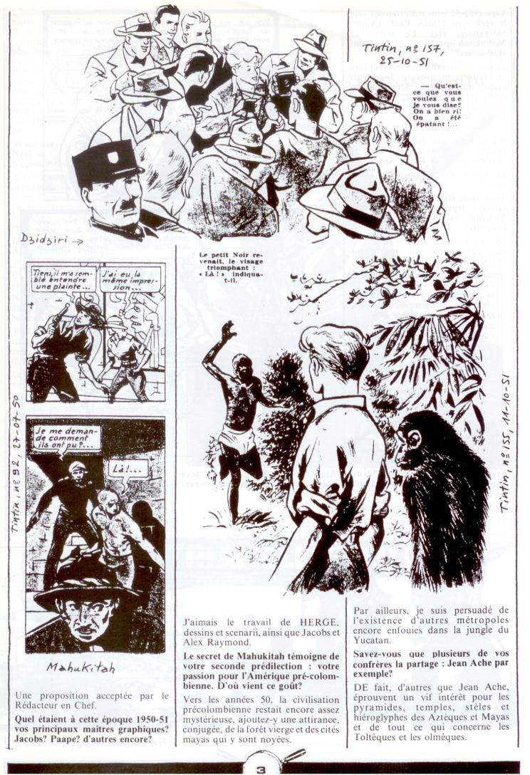 Les dessinateurs méconnus de Tintin, infos et interviews rares - Page 5 P210