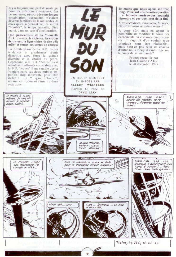 Les dessinateurs méconnus de Tintin, infos et interviews rares - Page 5 P610