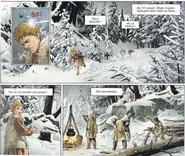 Alix Senator tome 10 : La forêt carnivore - Page 2 Premiz10